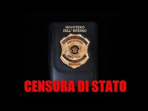 CENSURA DI STATO - QUANDO LA VERITA' FA MALE