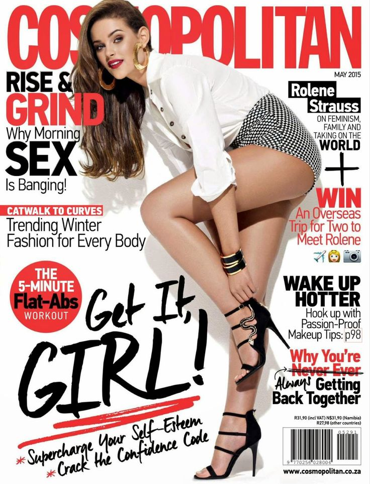 Miss World, Model @ Rolene Strauss - Cosmopolitan South Africa, May 2015