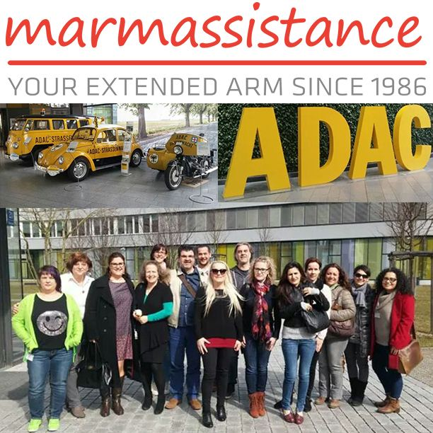 marmassistance employees attented the training which was given by one of our valued co-partners, also one of the most established automobile clubs in Europe, ADAC (Allgemeiner Deutscher Automobil-Club) in Germany.