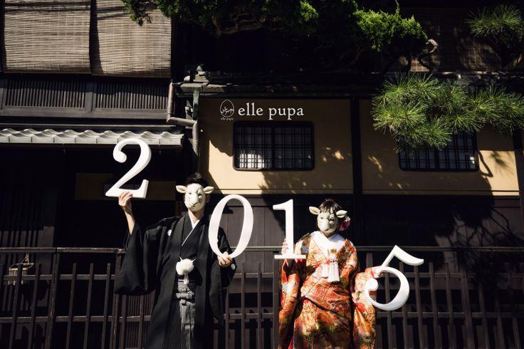 こんにちは*2015年 |*ウェディングフォト elle pupa blog*