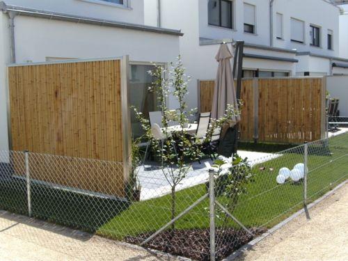 Balkon Sichtschutz Aus Bambus ? Praktische Und Originelle Idee ... Sichtschutz Balkon Bambuspflanzen