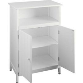 Buy Waltham - Shaker Tongue And Groove Bathroom 2 Door Storage Cabinet - White from our Bathroom Standing Cabinets & Storage range - Tesco