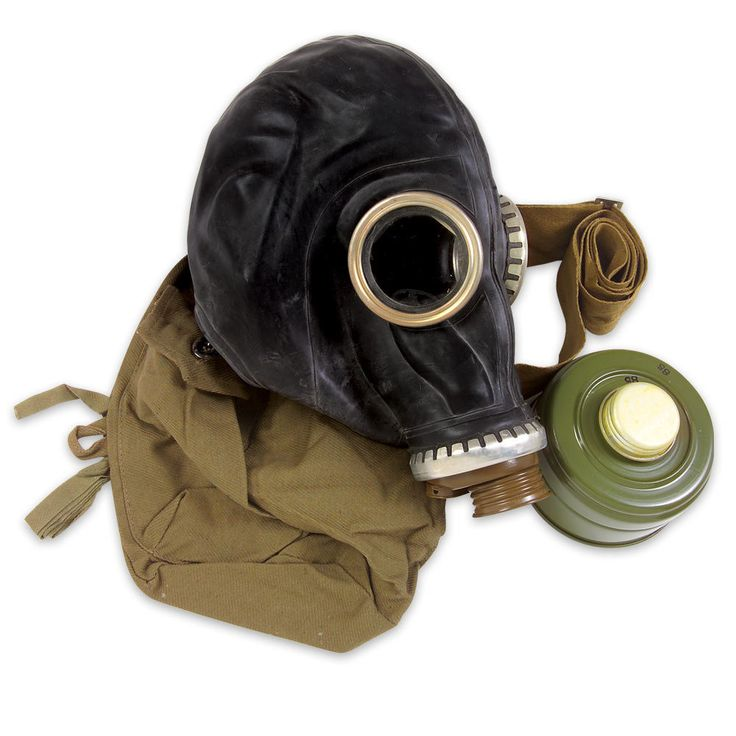 Russian Military Surplus Gas Mask SCHM-41M With Hose | CHKadels.com | Survival & Camping Gear