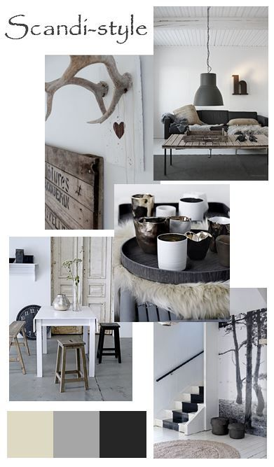 moodboard - scandinavian home...voor meer inspiratie www.stylingentrends.nl of www.facebook.com/stylingentrends