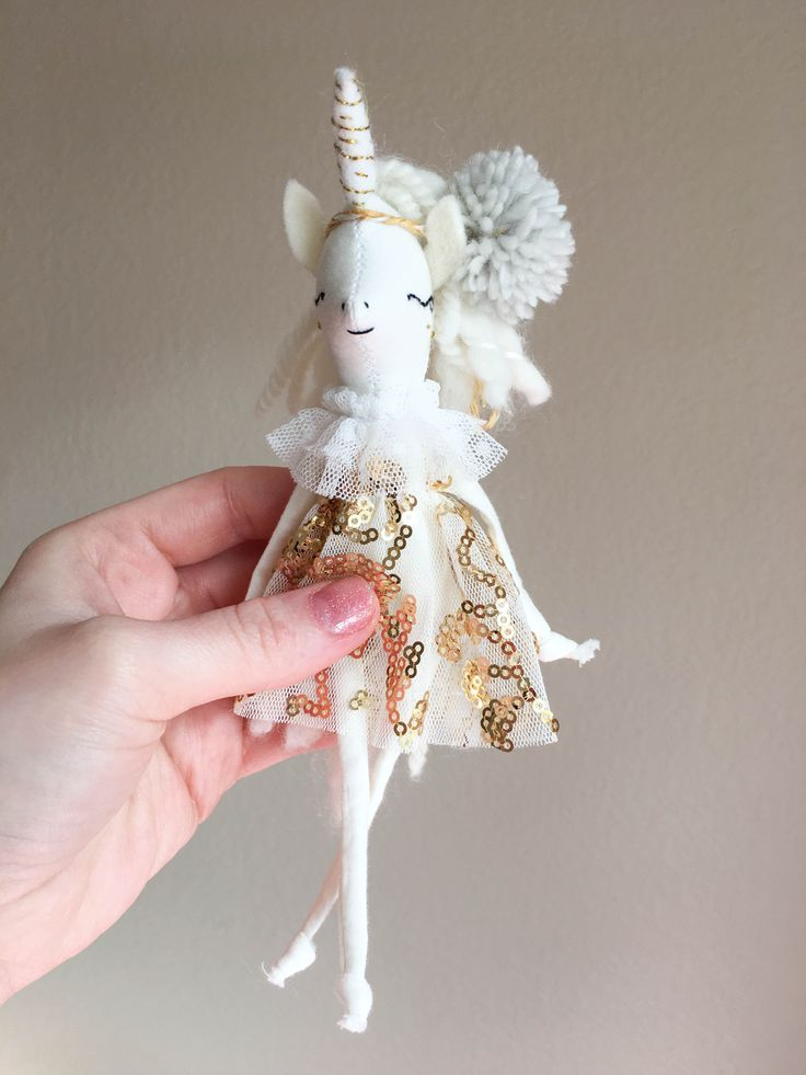 Tiny Unicorn Doll