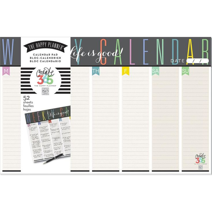 The 25+ best Calendar pad ideas on Pinterest To do list pad, Go - daily calendar