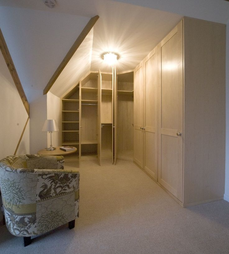 24 Best Ideas About Closets With Slanted Ceilings On