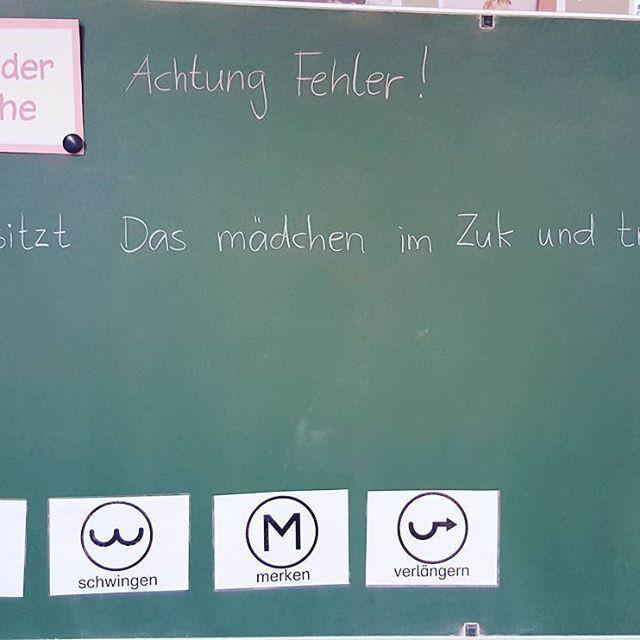 Eine Unserer Wochentlichen Ubungen Im Deutschunterricht Der Satz Der Woche Viele Von Euch Kennen Ihn Besti Deutsch Unterricht Lesen Lernen Schreiben Lernen