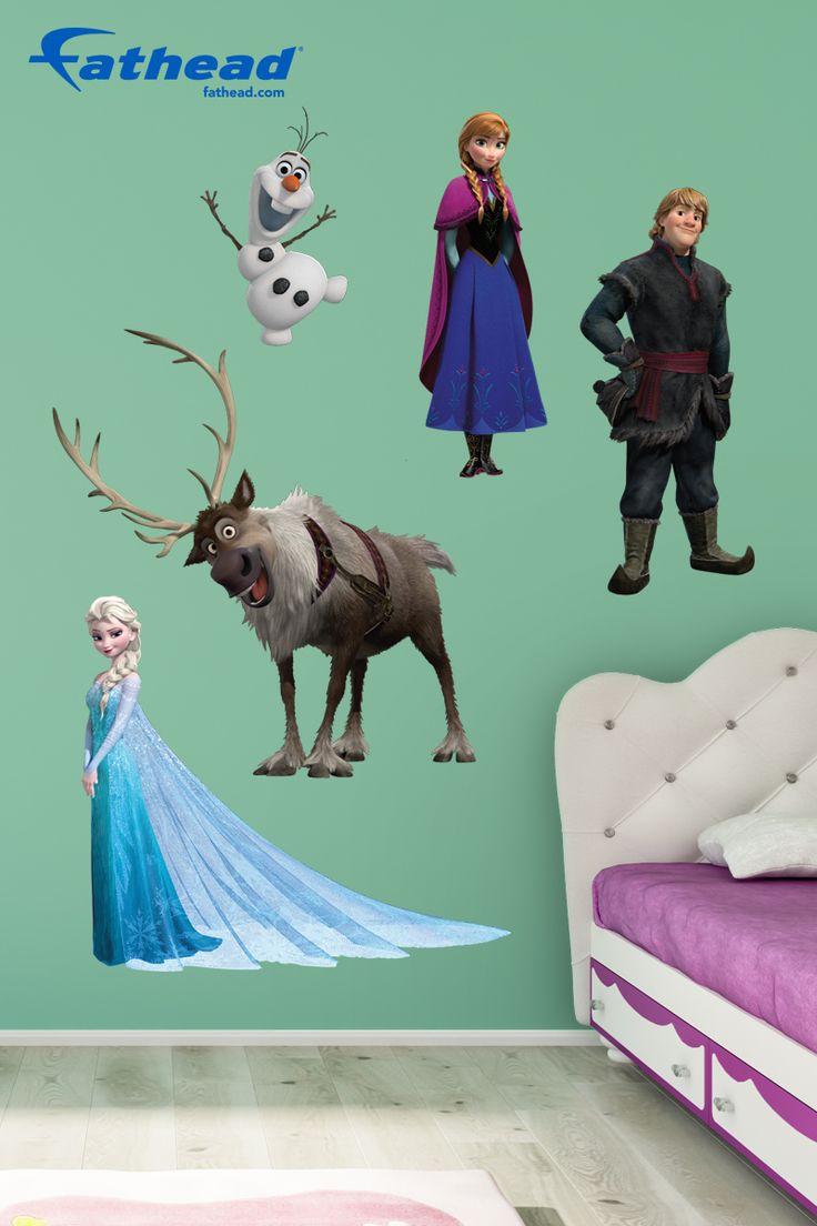 Disney frozen wall stencils - Disney Princess Easy Care Vinyl Wall Decals Can Be Reused Repositioned And