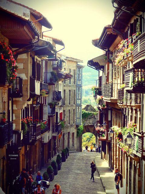 Hondarribia, Guipuzcoa, Spain