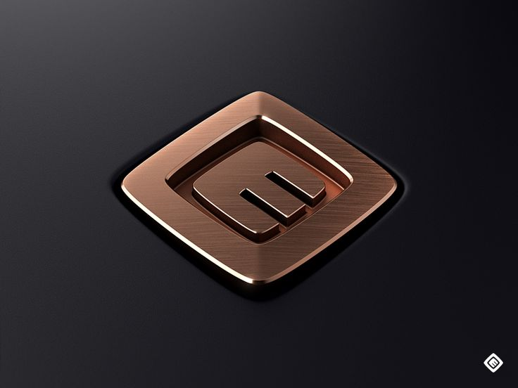 Copper Emblem - by Mikael Eidenberg | #ui