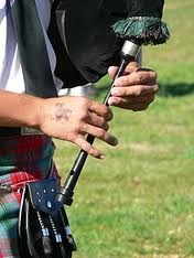 Inverclyde Area - College of piping chanter, learners book and cd - £40