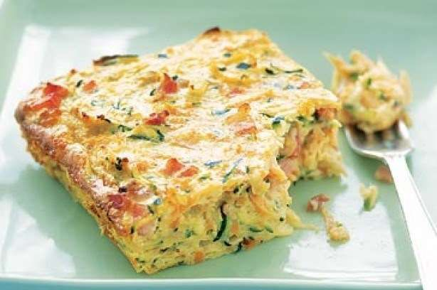 Zucchini Slice with a Twist