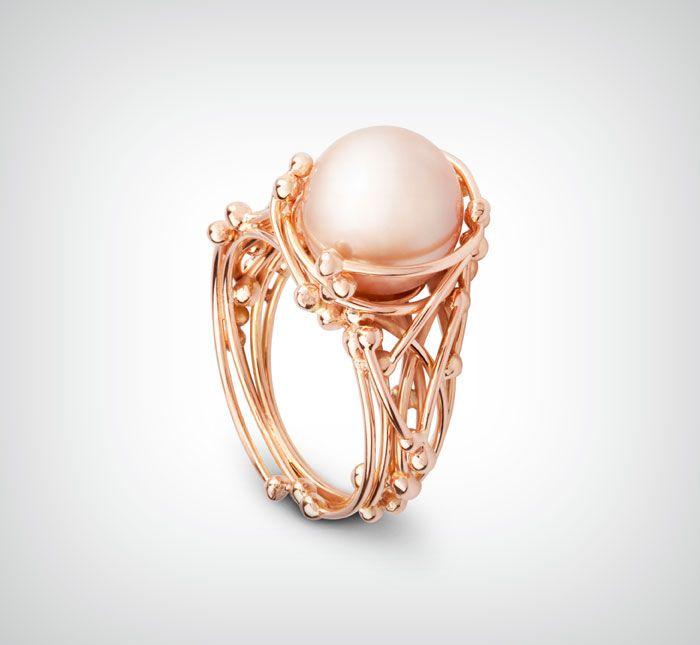 Golden ring 'Medusa' | Goldline