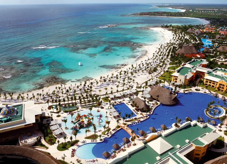 Barcelo Maya Palace All Inclusive Resort Riviera Cancun What A View Vacation Destinations