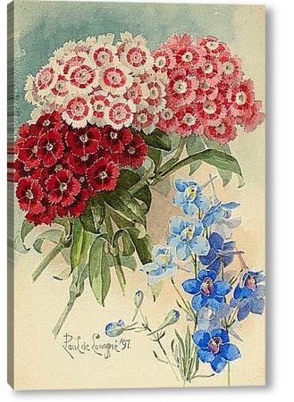 """Картина """"Весенний букет , 1897"""""""