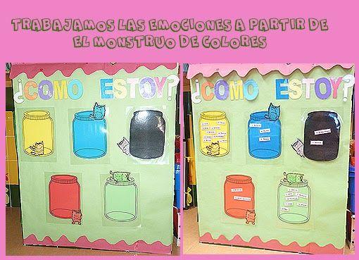 GRACIAS AL LIBRO EL MONSTRUO DE COLORES DE ANNA LLENAS www.annallenas.com . QUE NOS HA TRAIDO UN ALUMNO A CLASE, HEMOS INTRODUCIDO EL TR...