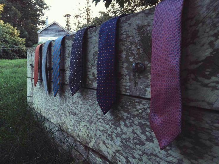 New collection of Dormeuil silk ties - Limited range, available at RJB Design.