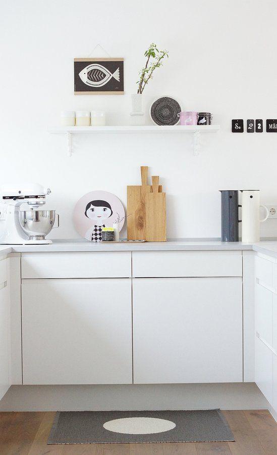 rosa tupfer in der küche in 2020 | wohnen, haus deko, haus