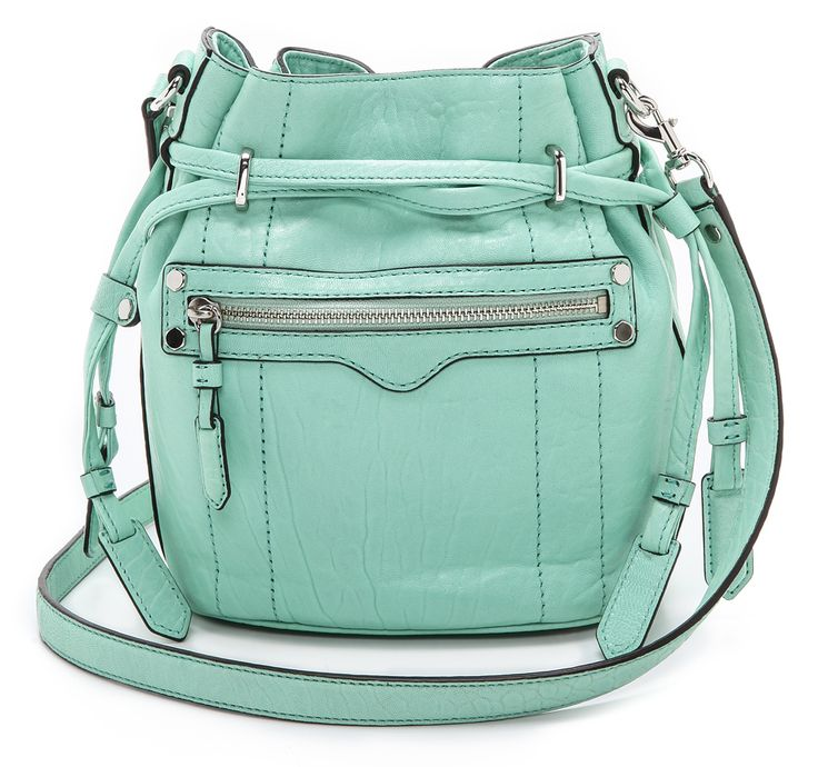 Colorful bags for spring: Rebecca Minkoff mini bucket bag. Love this!Buckets Bags, Bags Everywhere, Style, Rebecca Minkoff, Bags 9X8X5, Purses Bags, Minis Buckets, Blog, Minkoff Minis