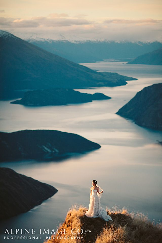 Wanaka Wedding - Photography by Alpine Image Co. Ltd
