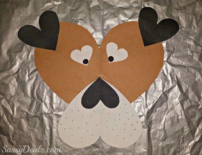 valentines puppy craft for kids
