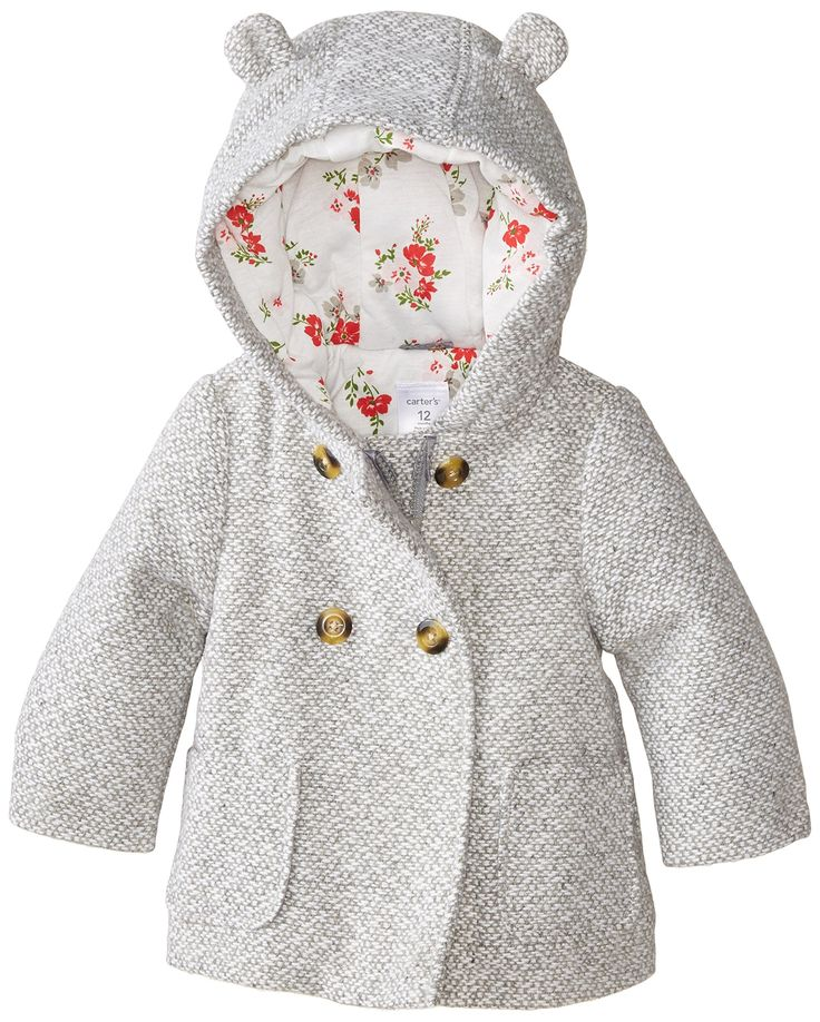 Amazon.com: Carter's Baby Girls' Infants Trans Single Jacket: Clothing