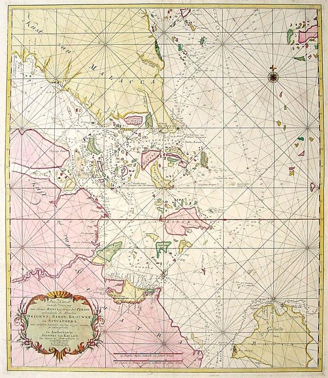 Vintage maps singapore simply excellent