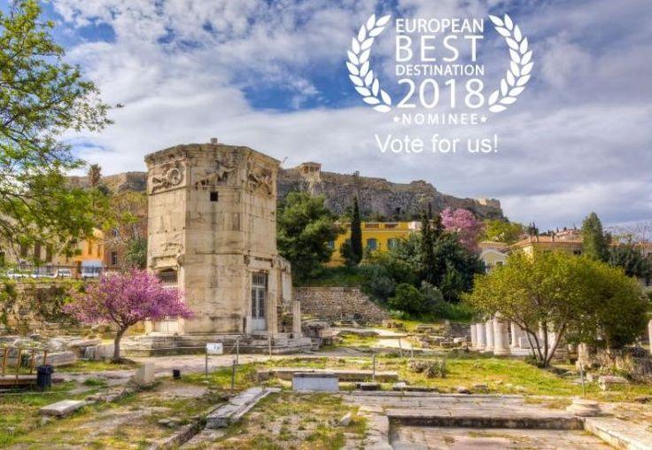 Athens Nominated for 'Best European Destination 2018' Title