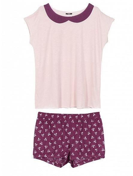 pigiami-donna-tezenis-inverno-2014-maniche-corte