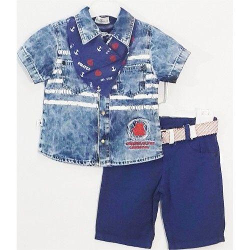 Fularlı Mavi Takım 44,90 TL ile n11.com'da! Erdem Takım Elbise fiyatı ve özellikleri, Çocuk Giyim