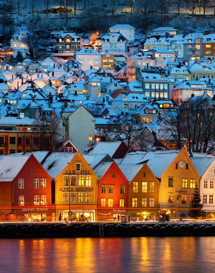 Bergen, Norway photo via mirjam