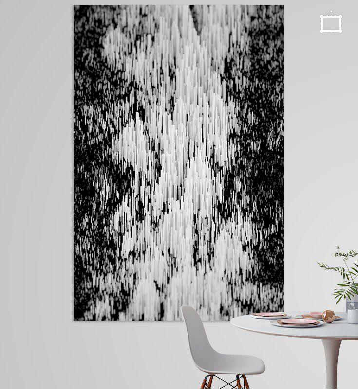 abstraktes stangen gebirge hochformat poster jorg hausmann ohmyprints abstrakt kunstdrucke auf leinwand keilrahmen leinwanddruck express preisvergleich foto