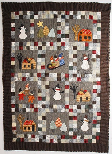 1000 Ideas About Winter Quilts On Pinterest Quilt