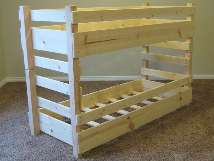 360 176 View Of Our Crib Size Kids Toddler Bunk Bed
