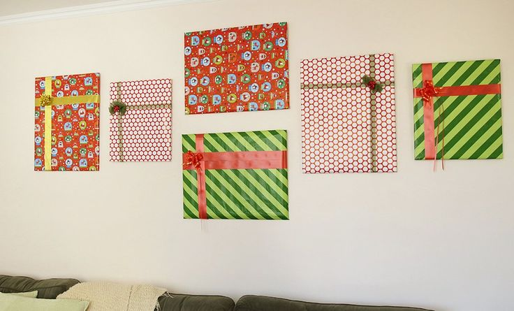 The amazing (free!) way this mom uses gift wrap scraps for Christmas