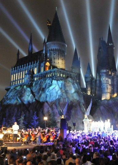 We coming back to see you, Hogwarts...  Who would have thought it would be less than a year after our last visit?!