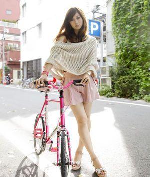 かわいい女の子と★オシャレな自転車☆のスナップ集! - NAVER まとめ