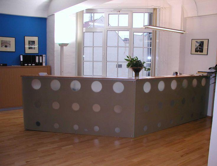 Best Reception Desk Images On   Reception Desks