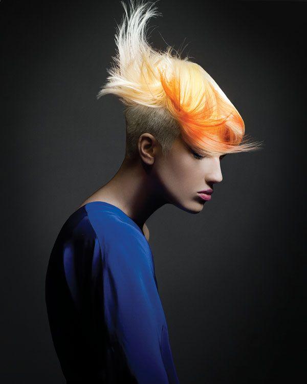 Butterfly Effect - Nature Inspired by Dimitrios Tsioumas. #orange #yellow ModernSalon.com
