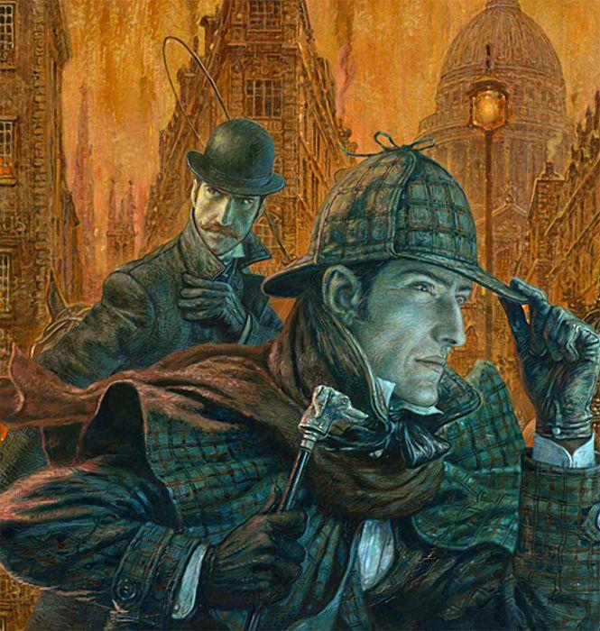 Шерлок холмс картинка из книги