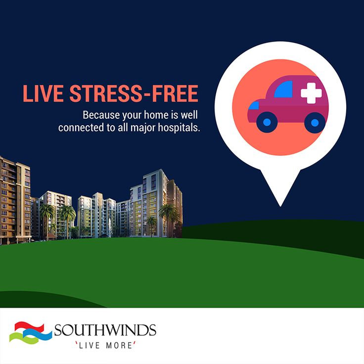 Well #connected to all leading #medical facilities #Southwinds #Kolkata  Call 033 4040 1010