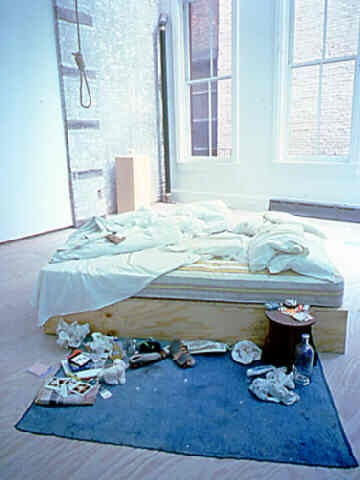 Tracey Emin, My Bed.
