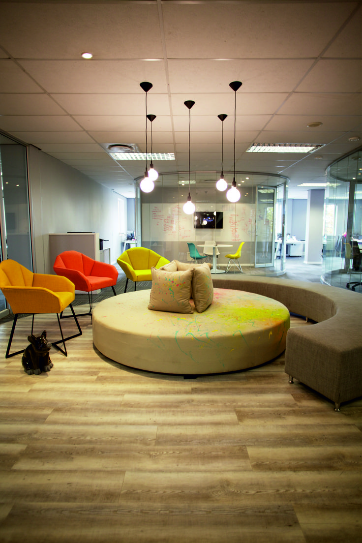 #Vumatel #Pausearea #office #interiordesign #work #Ontargetinteriors