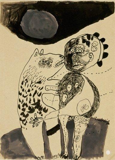 Lucebert: Bekering, 1952