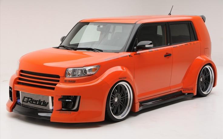Scion xB orange super car