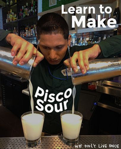 Your time has finally arrived! Get behind the bar at the most famous watering hole in Santiago for a mixology workshop with one of Chile's best. Skip amateur hour and learn from a pro with Wolo! You'll be whipping up delicious Pisco Sours in no time.
