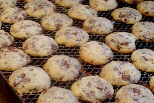 On Day two of my holiday baking adventure, I made Toblerone Shortbread. I got the idea for these cookies from pastry chef Anna Olson. She was preparing them on Cityline TV. She made a basic sho...