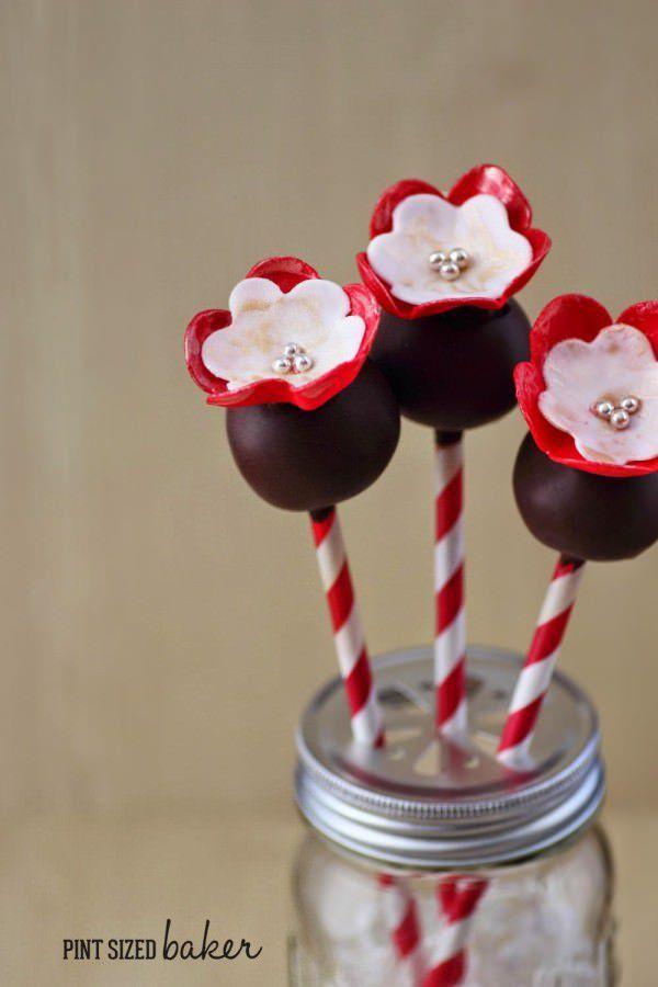 Flower Cake Pops - Tutorial