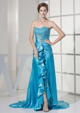 2013 cheap holiday dresses in melbourne | strapless sleeveless printing prom dress | with hand made flowers and ruch colorful prom    dress | 2013 holiday party dresses inspired by natalie portman at the black swan | ruch prom dress | cheap prom dresseson sale prom    dress | romantic prom dress | discount prom gowns